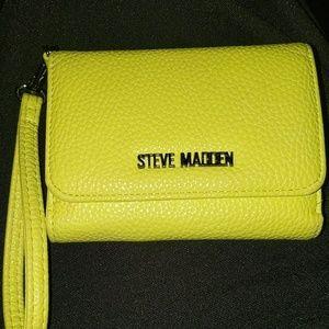 Neon yellow Steve Madden